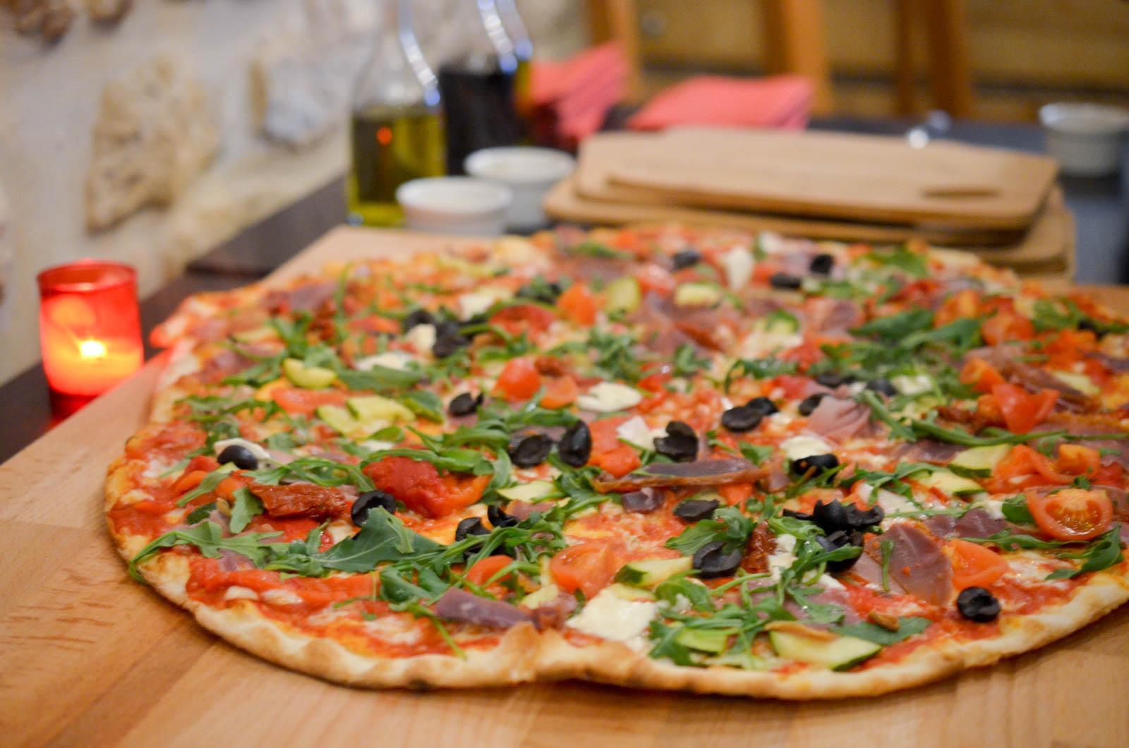 papelli les pizzas al italia les p pites de noisette. Black Bedroom Furniture Sets. Home Design Ideas