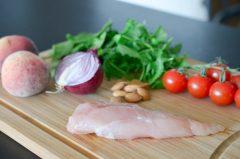 Salade_poulet_pêche_balsamique (1 sur 10)