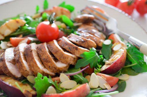 Salade_poulet_pêche_balsamique (10 sur 10)