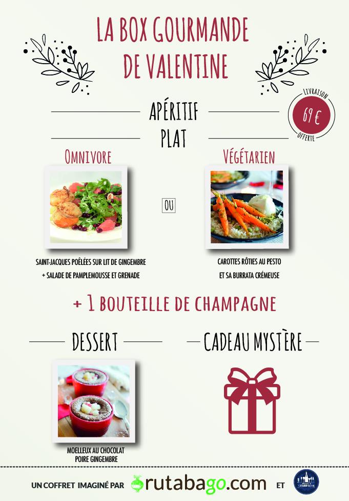 Votre repas de la saint valentin directement livr chez - Repas pour la saint valentin ...