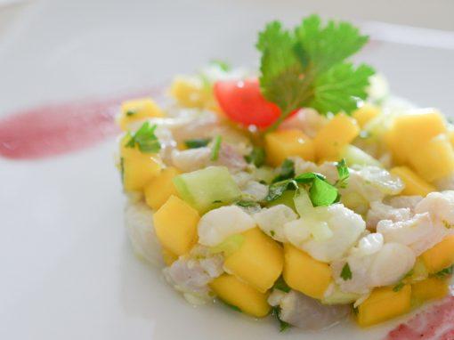 Ceviche de poisson à la Thaïe