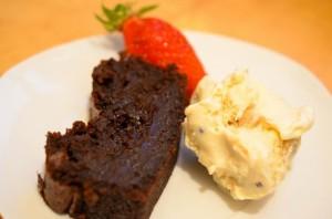 Le cake choco parfait, à la vanille des Seychelles