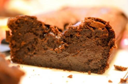 Cake Choco Vanille Seychelles Slice