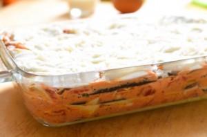 Lasagnes fondantes aux aubergines