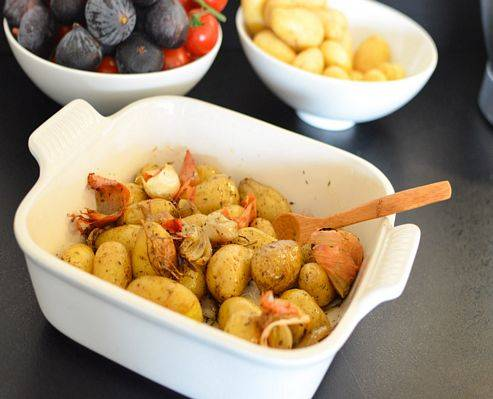 Pommes Grenailles Roties Au Four Les Pepites De Noisette