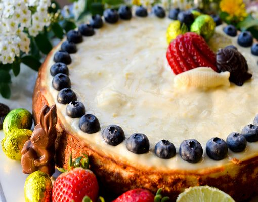 Cheesecake Pâques 10