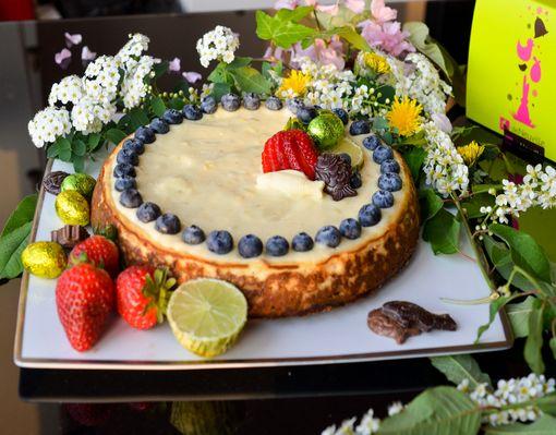Cheesecake Pâques 11