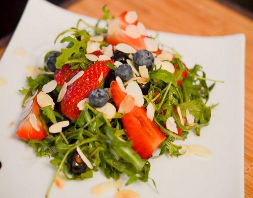 Salade Fraises Roquette 4