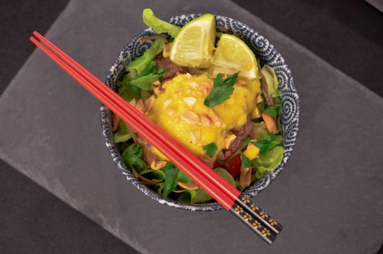 Salade Boeuf Mangue 5