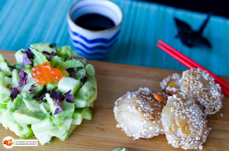 Pomme Verte Wasabi Saint Jacques 5