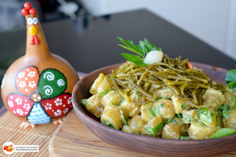 Salade Pommes Grenaille Salicorne 9