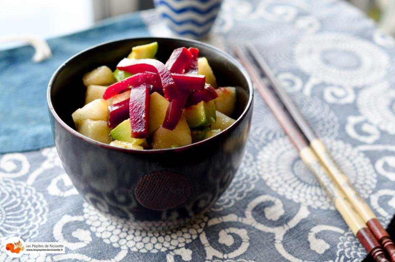 Salade Poire Avocat 1