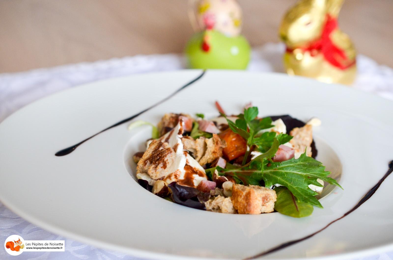 Salade Chabichou Chocolat Noisette (7 Sur 7)