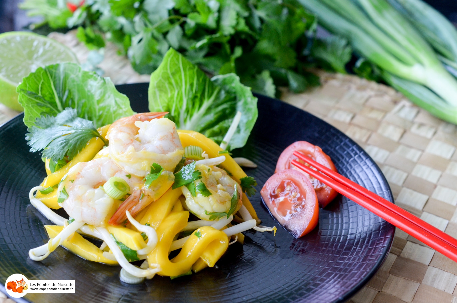 Salade Crevettes Mangue Thai (4 Sur 7)