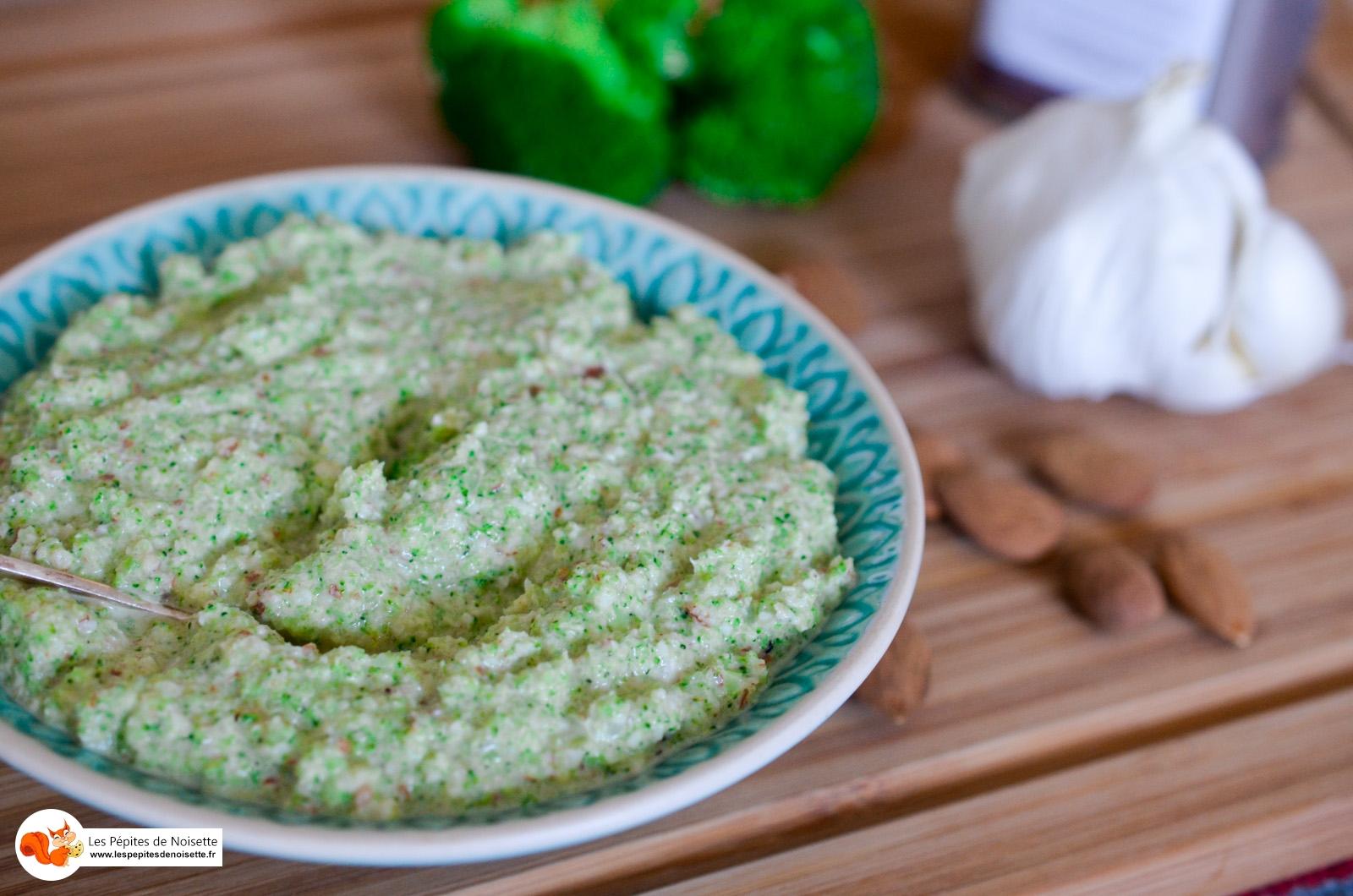 Wrap Trèfle Chèvre Pesto Brocolis Amande épinards (3 Sur 9)