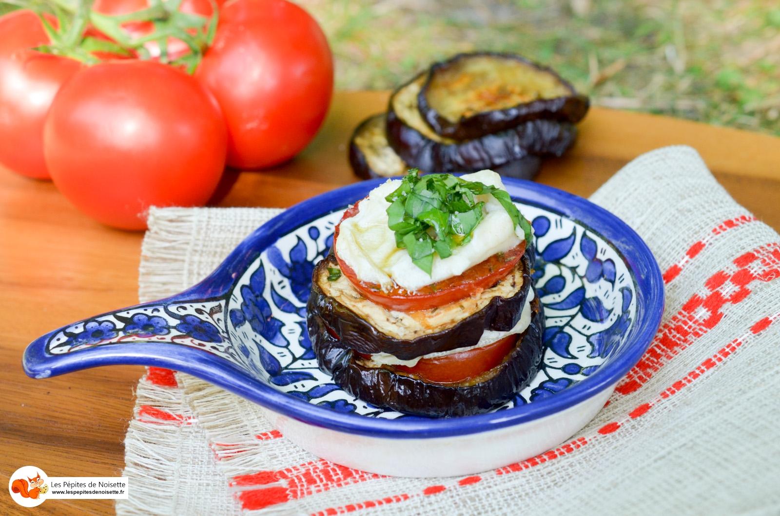 Aubergines Tomates Rocamadour Chèvre (8 Sur 8)