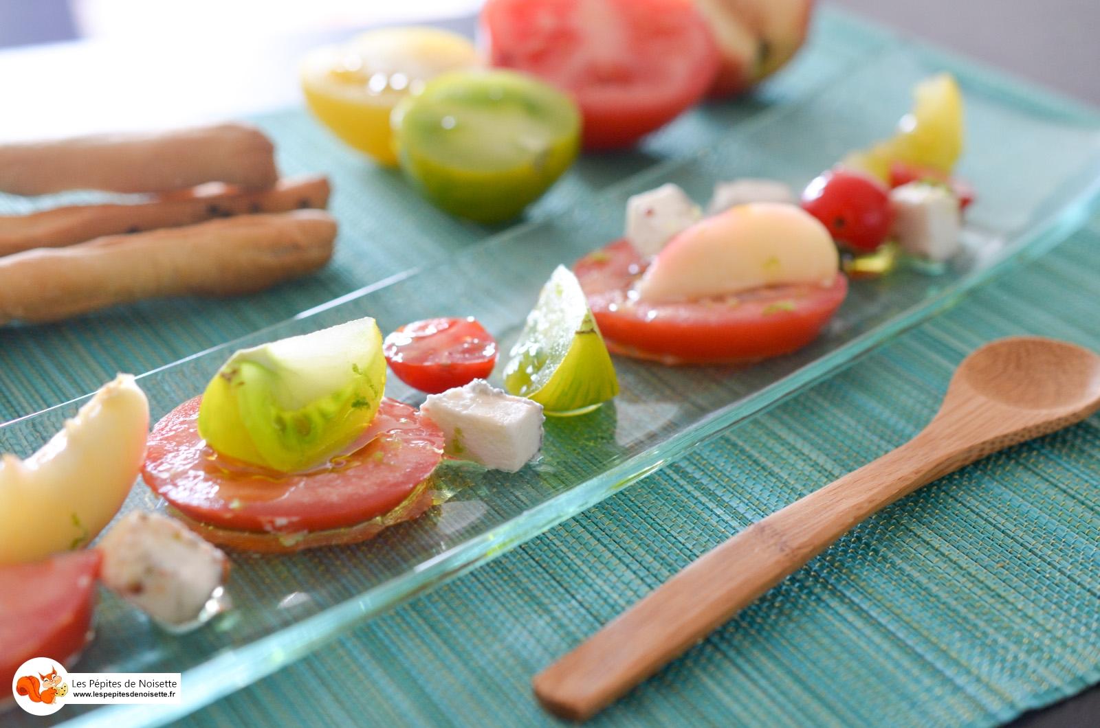 Salade Pêche Tomate Pavé Tarn (10 Sur 6)