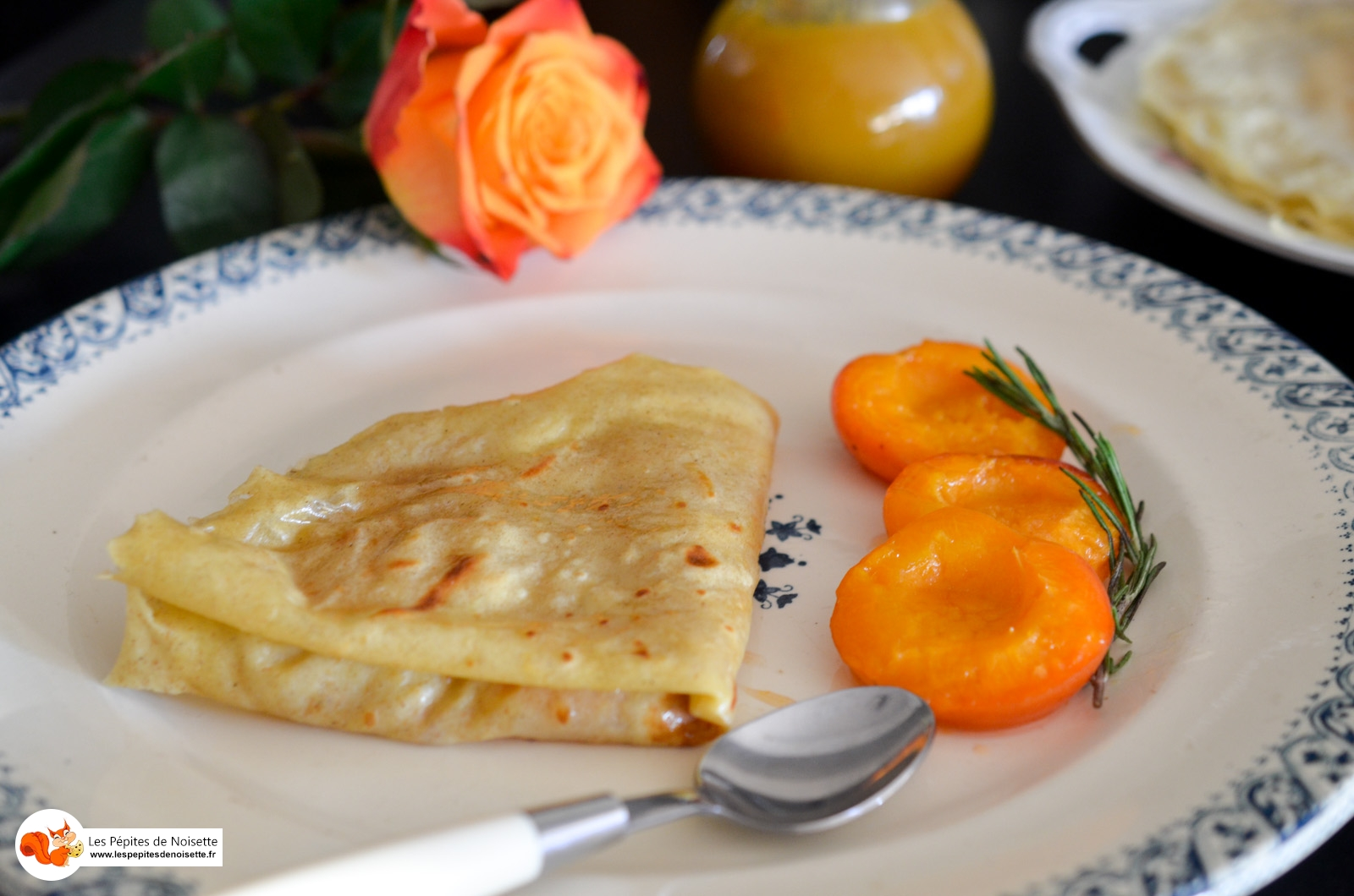 Crepes Abricots Calisson (4 Sur 4)