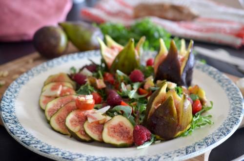 Salade_figue_picodon_vinaigrette_framboises (8 sur 9)