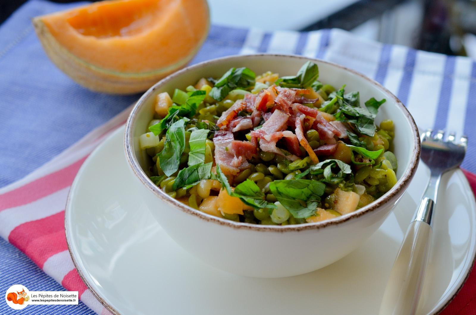 Salade Pois Cassés Melon Lardon (4 Sur 4)