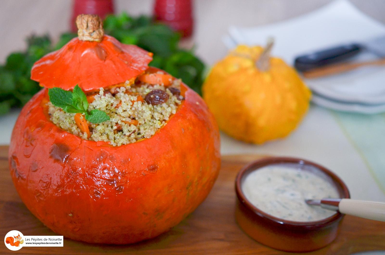 Courge Farcie Quinoa Amande Carotte (11 Sur 11)