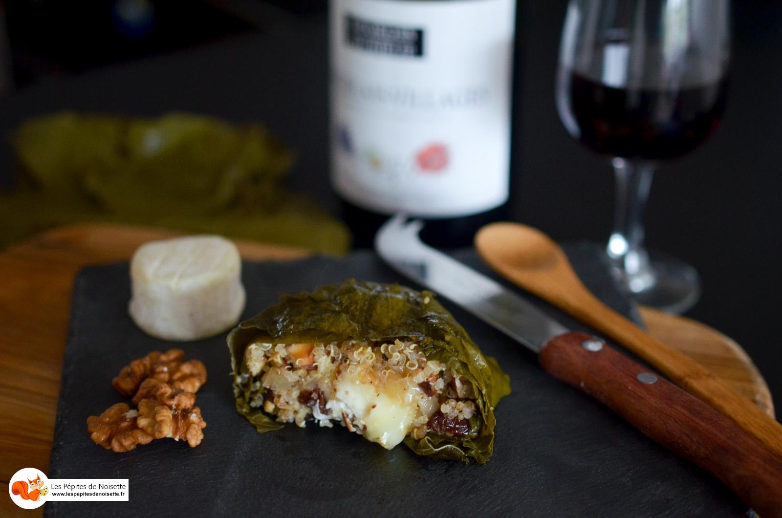 Maconnais Feuille De Vigne Quinoa Amande (15 Sur 15)