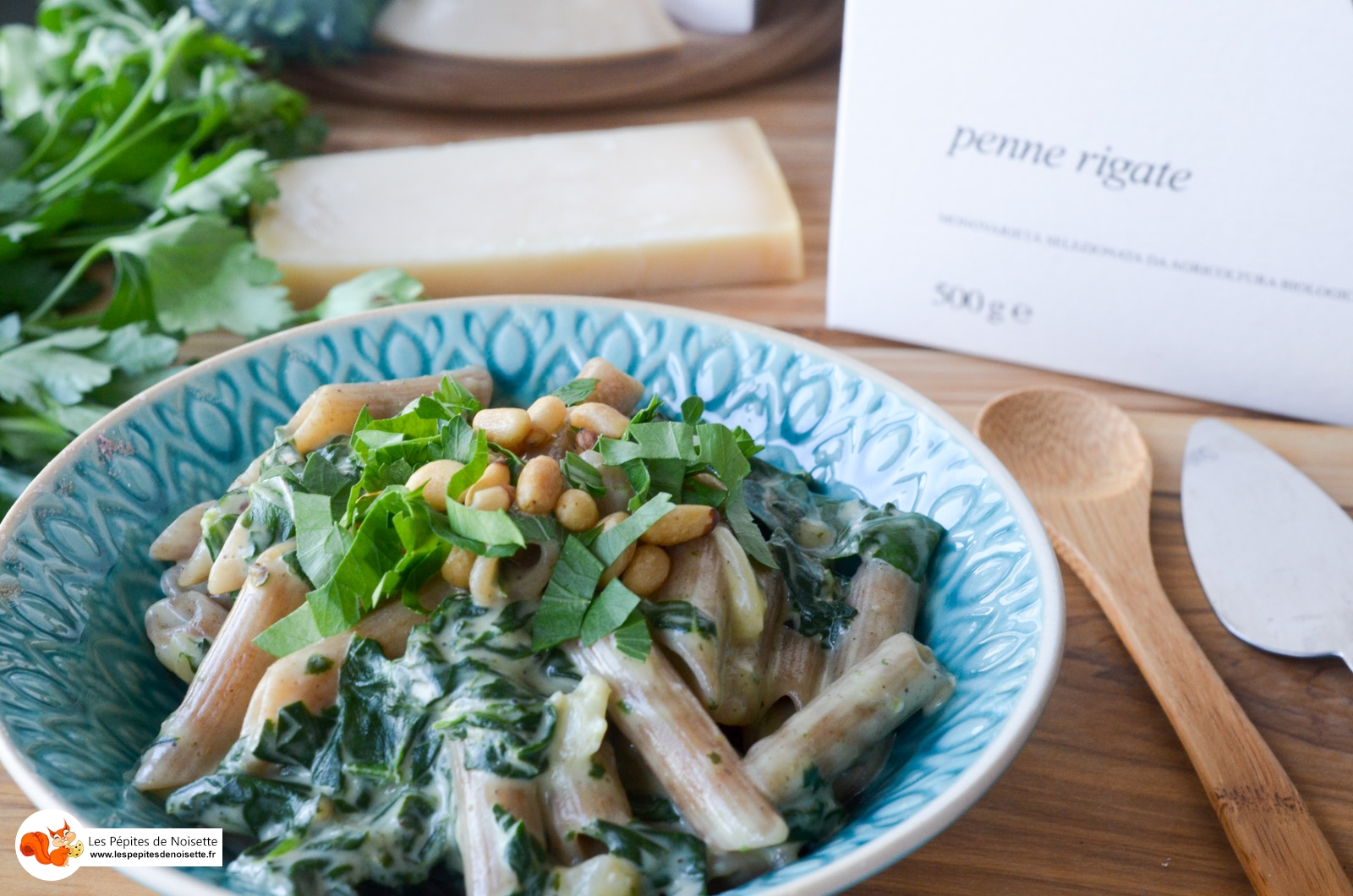 One Pot Pasta Epinard Mascarpone Parmesan Pignons (8 Sur 10)