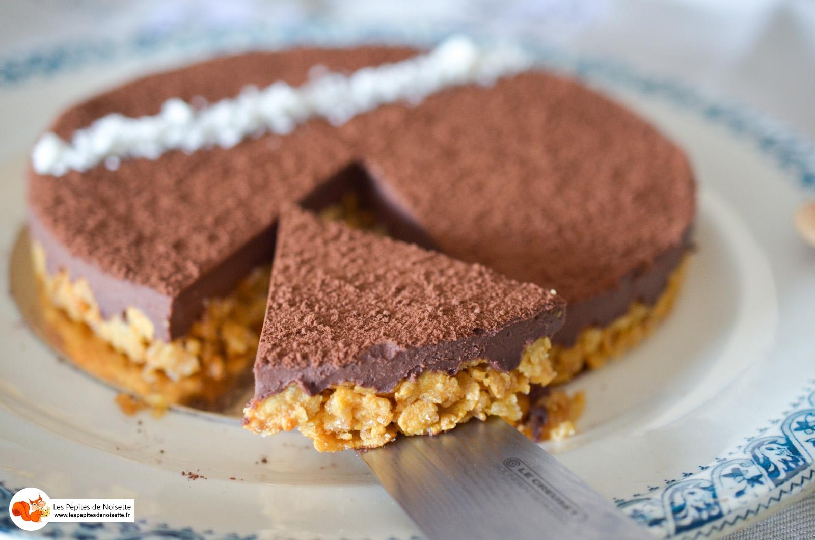 Tarte Choco Coco Sans Gluten Lactose (8 Sur 8)