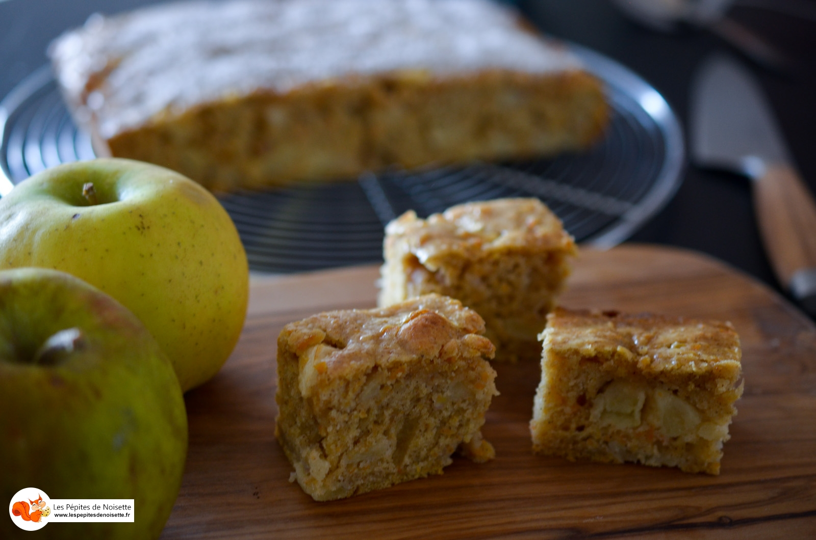 Butternut Apple Bars Cake (11 Sur 11)