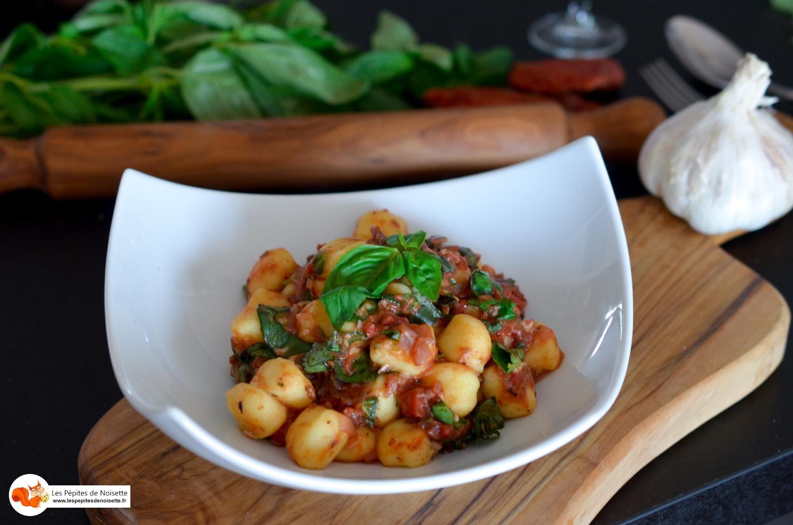 Gnocchis 2 Tomates Parmesan Basilic (8 Sur 8)