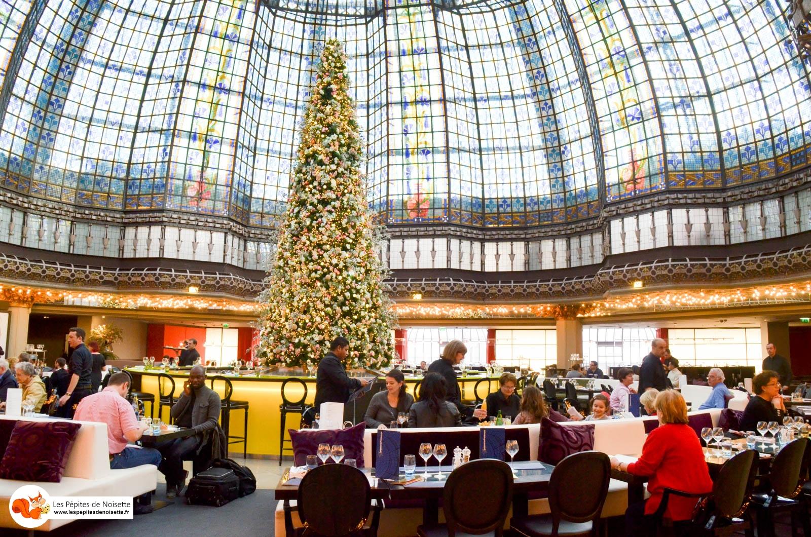 Printemps Haussmann Brasserie Noël2015 (1 Sur 9)