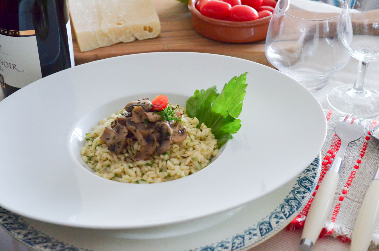 Risotto Champignons Ail Thym Persil (6 Sur 9)