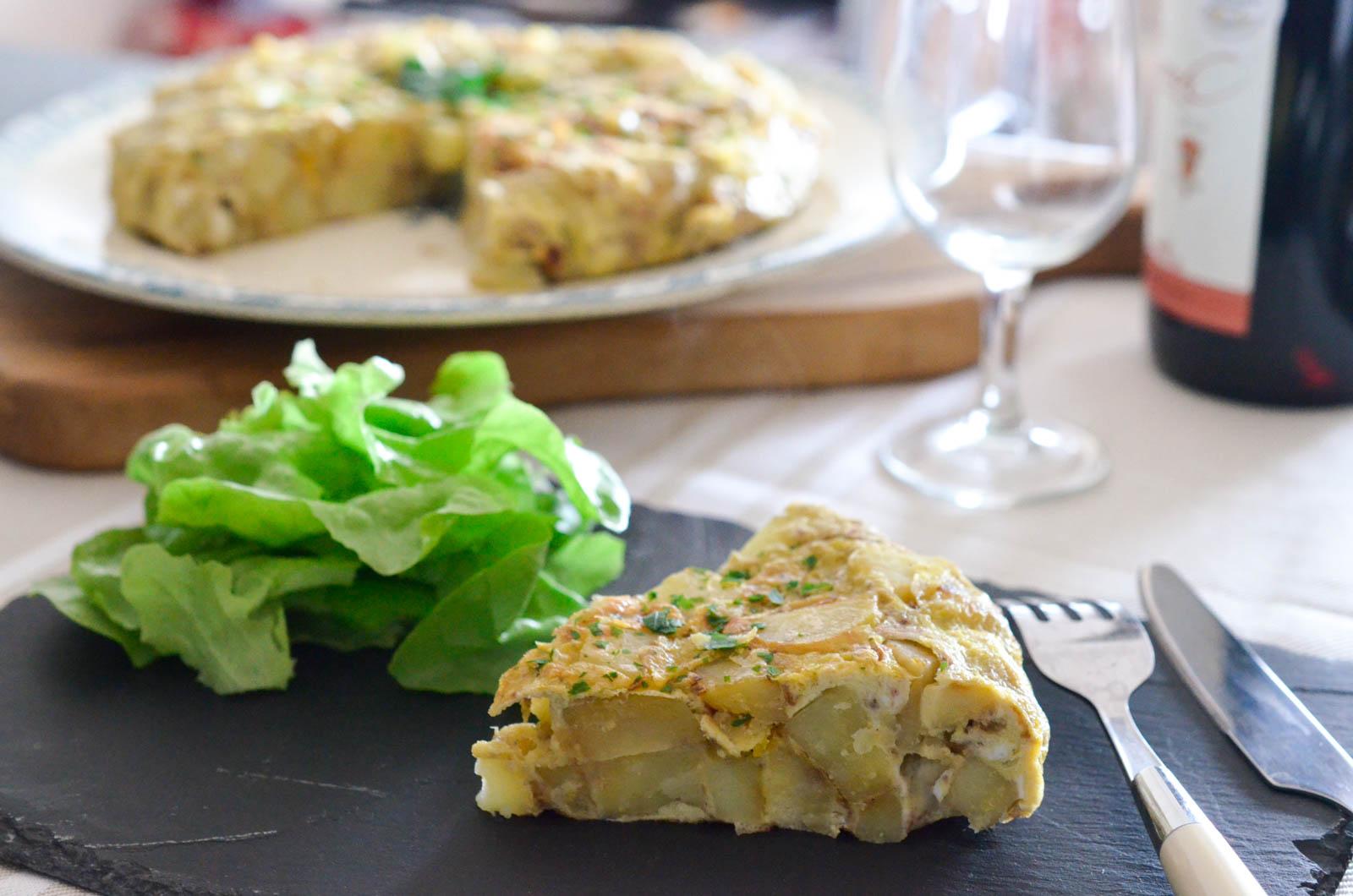 Tortilla Pommes De Terre Oignons (6 Sur 8)