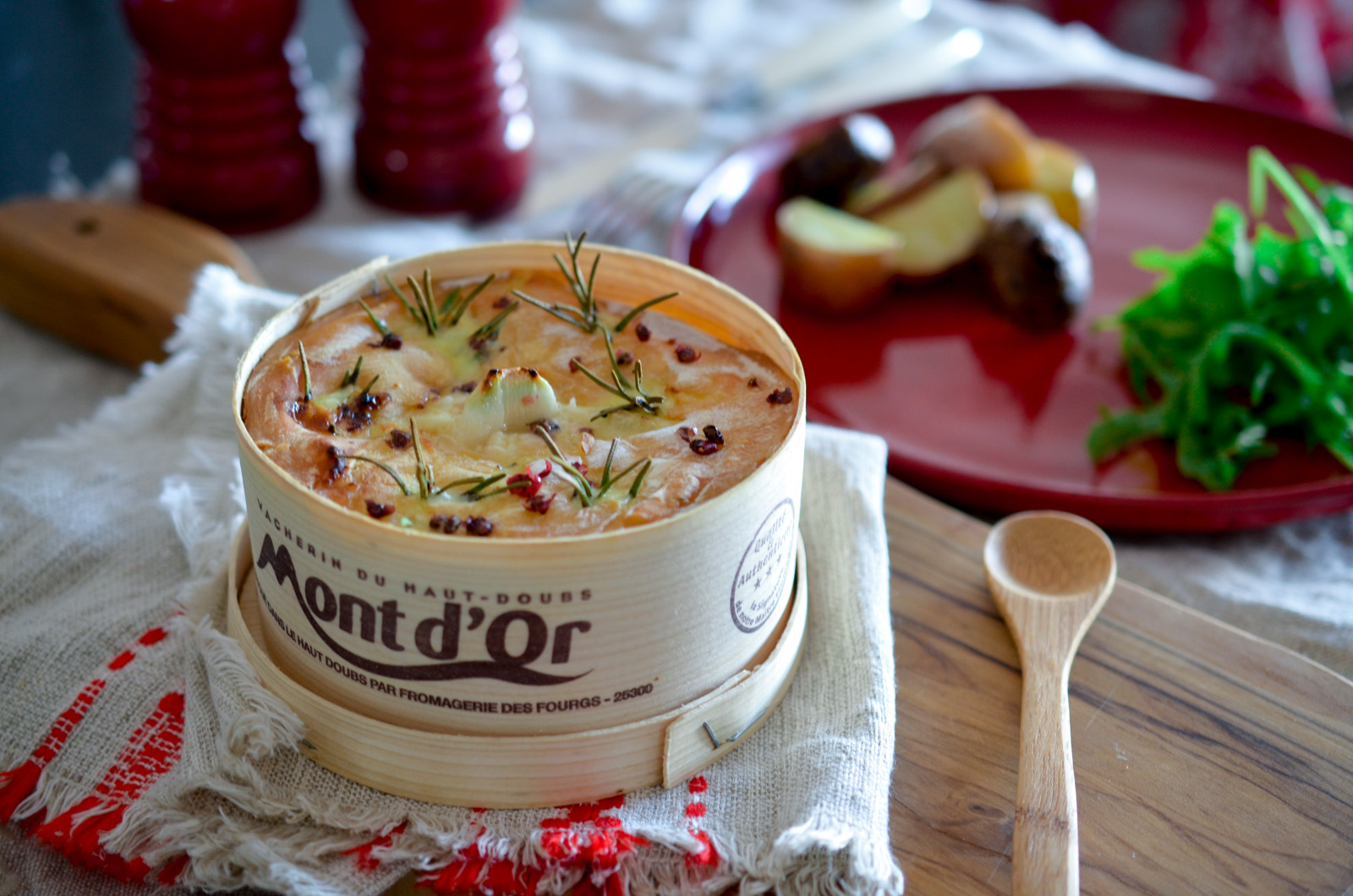Vacherin Mont d'Or au four