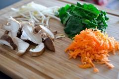 Bibimbap végétarien (2 sur 9)