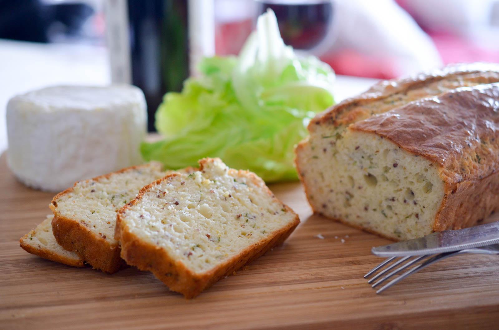 Cake Moutarde Estragon Chaource Laitue (5 Sur 7)