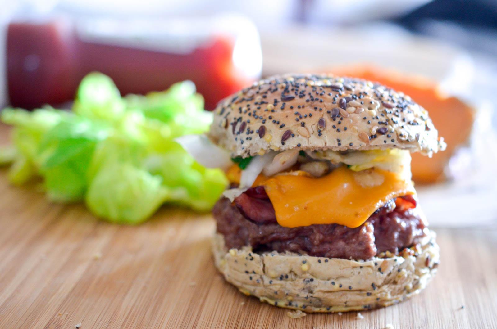 Ch'ti Burger Mimolette Chicons (6 Sur 9)