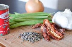 Galette_lentilles_curry_salade_haricots_tomate (1 sur 10)