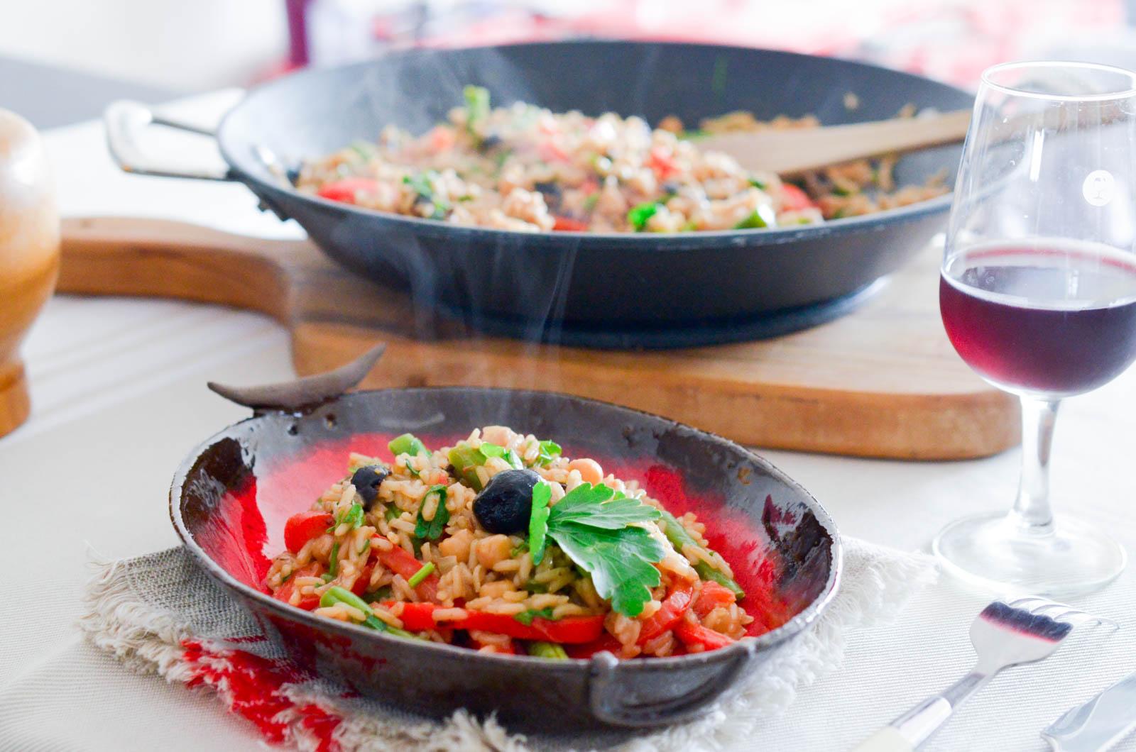 Paella Végétarienne (7 Sur 10)