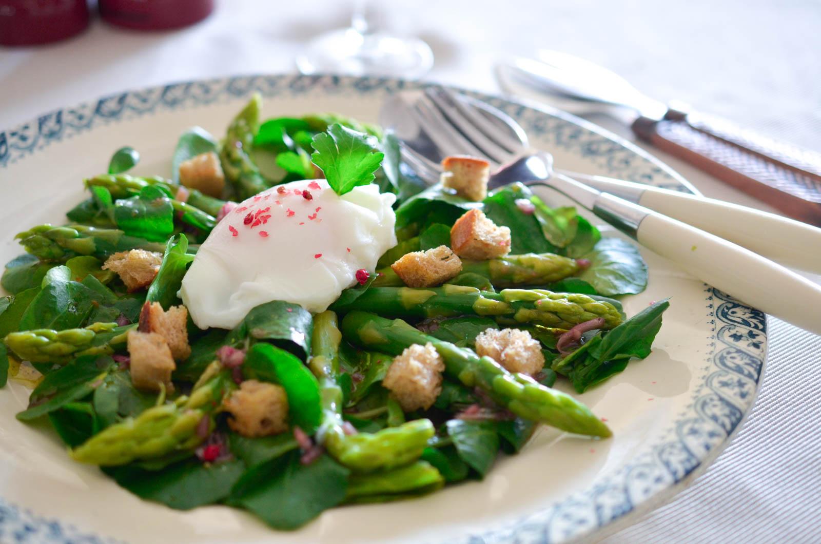 Salade Asperge Cassis Oeuf Poché (9 Sur 11)