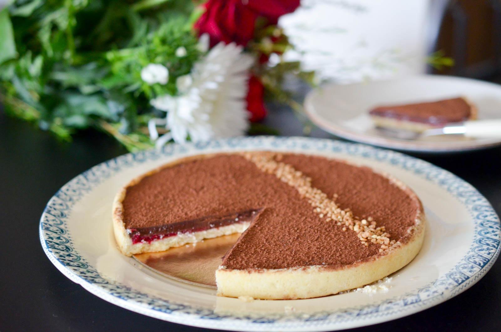 Tarte Chocolat Framboises Yuzu (9 Sur 9)