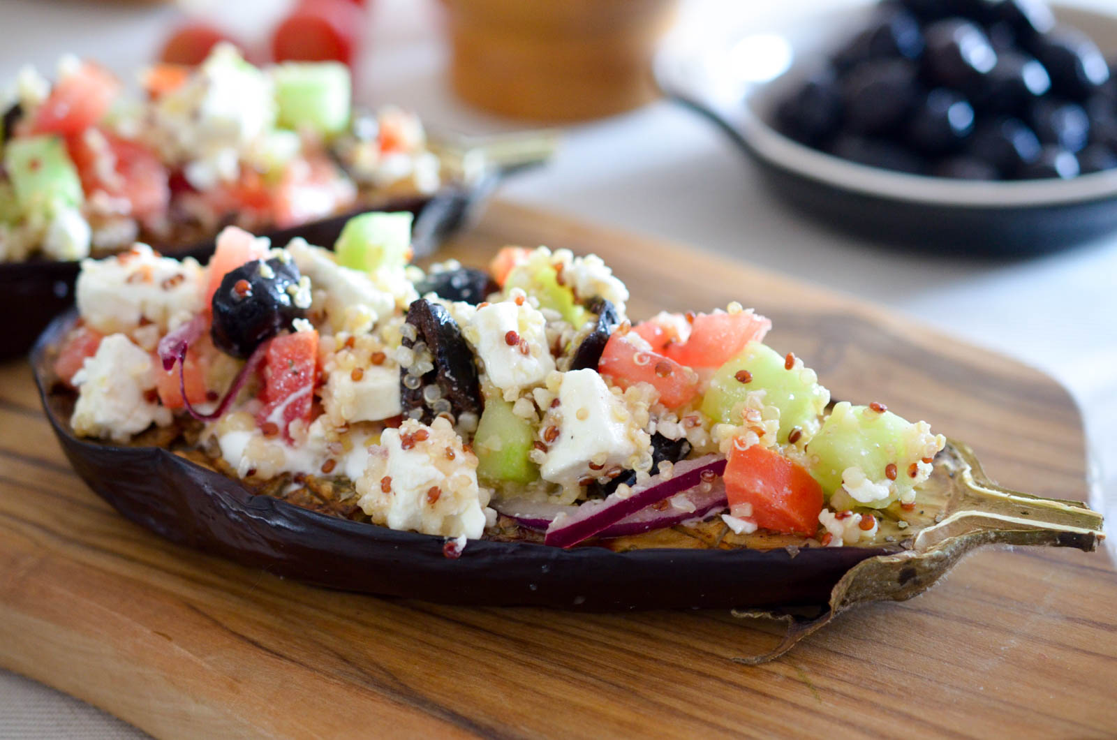Salade Grecque Aubergine (8 Sur 8)