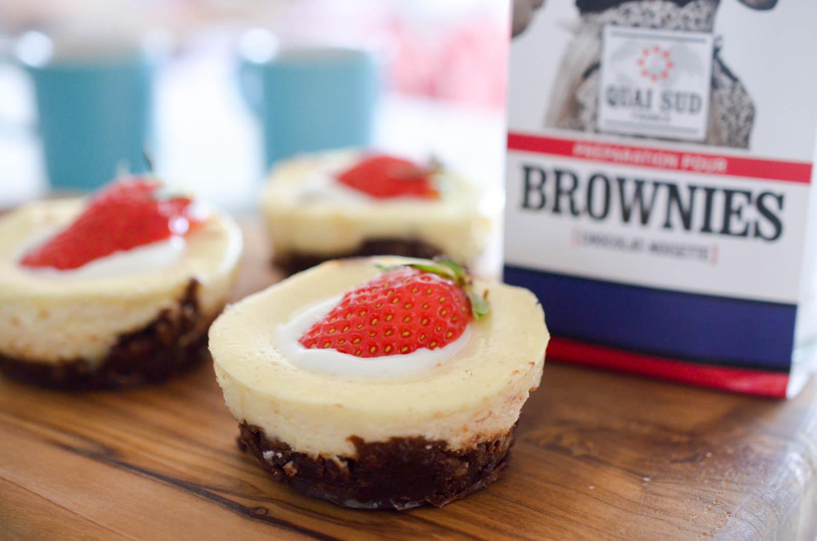 Brownie Cheesecake Quai Sud (3 Sur 3)