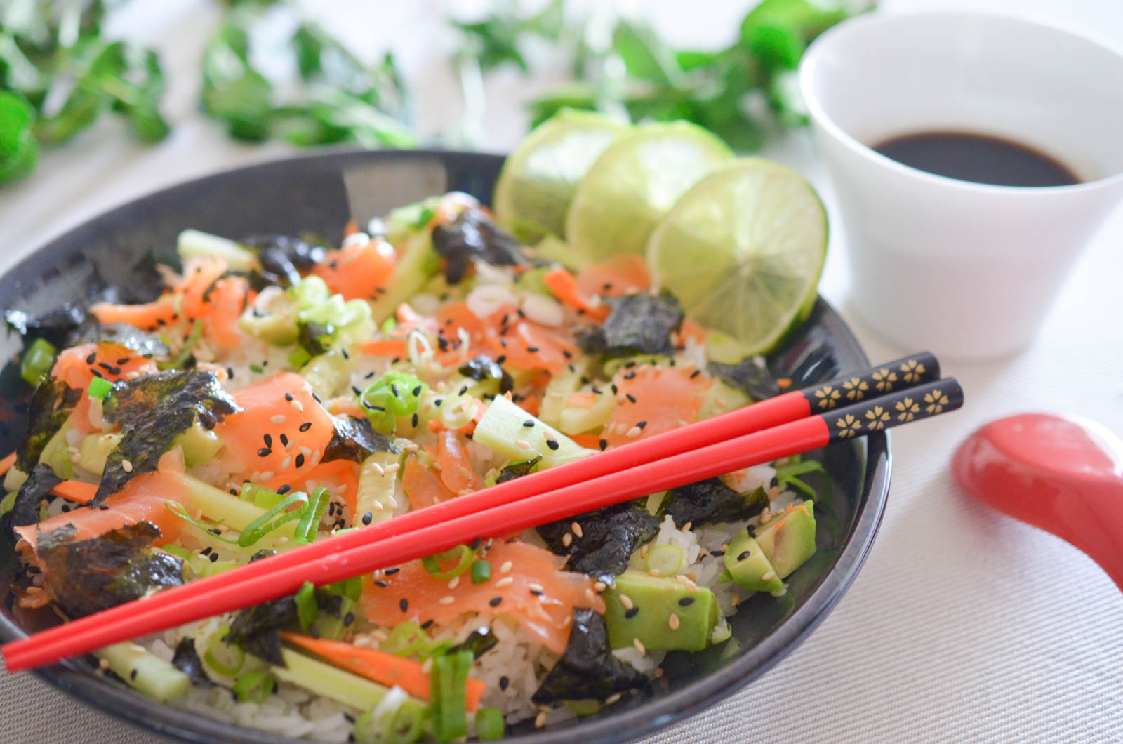 California Sushi Bowl Saumon (6 Sur 7)