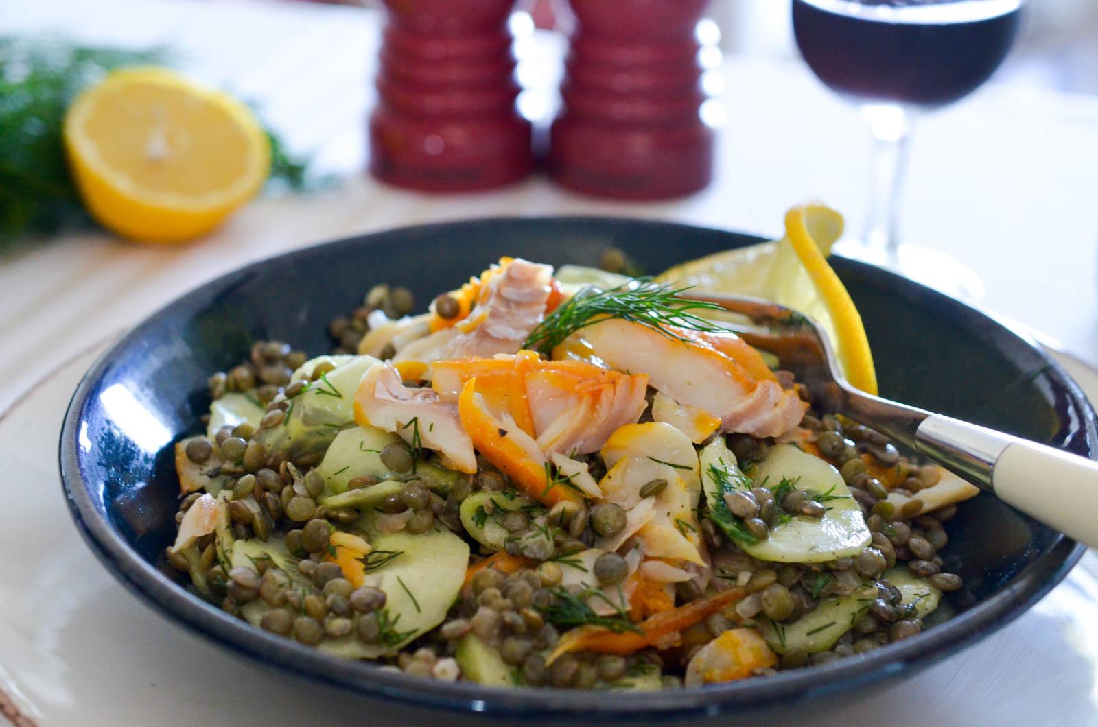 Lentilles Haddock Fumé Concombre Aneth (7 Sur 8)