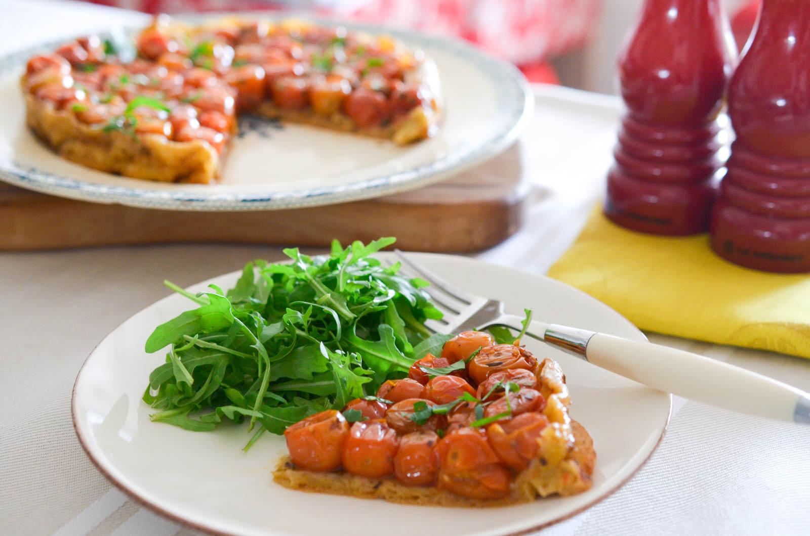 Tarte Tatin Tomates Cerises (7 Sur 8)