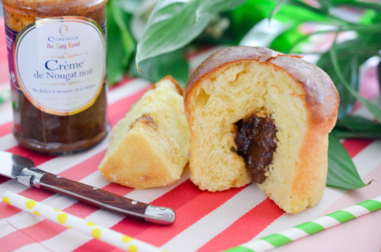 Brioche Crème Nougat Noir Roy René Confiseur (3 Sur 3)