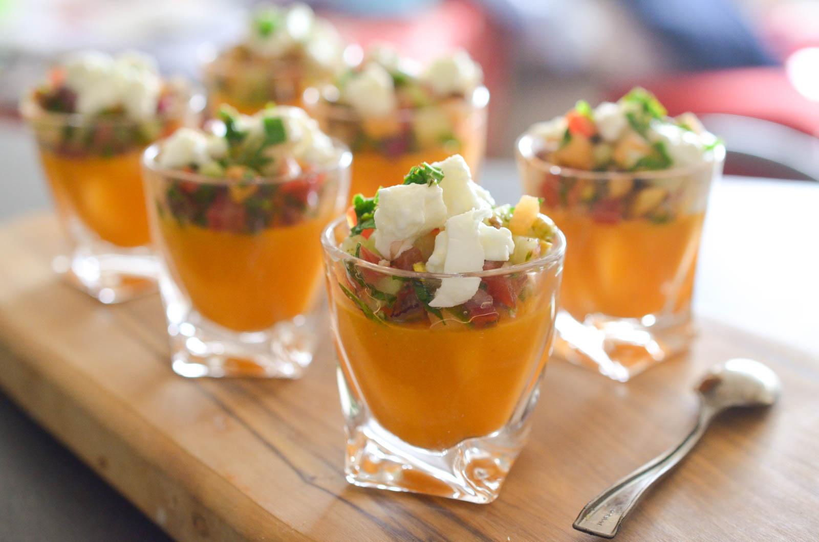 Gaspacho Melon Pistache Légumes Crealine (8 Sur 12)