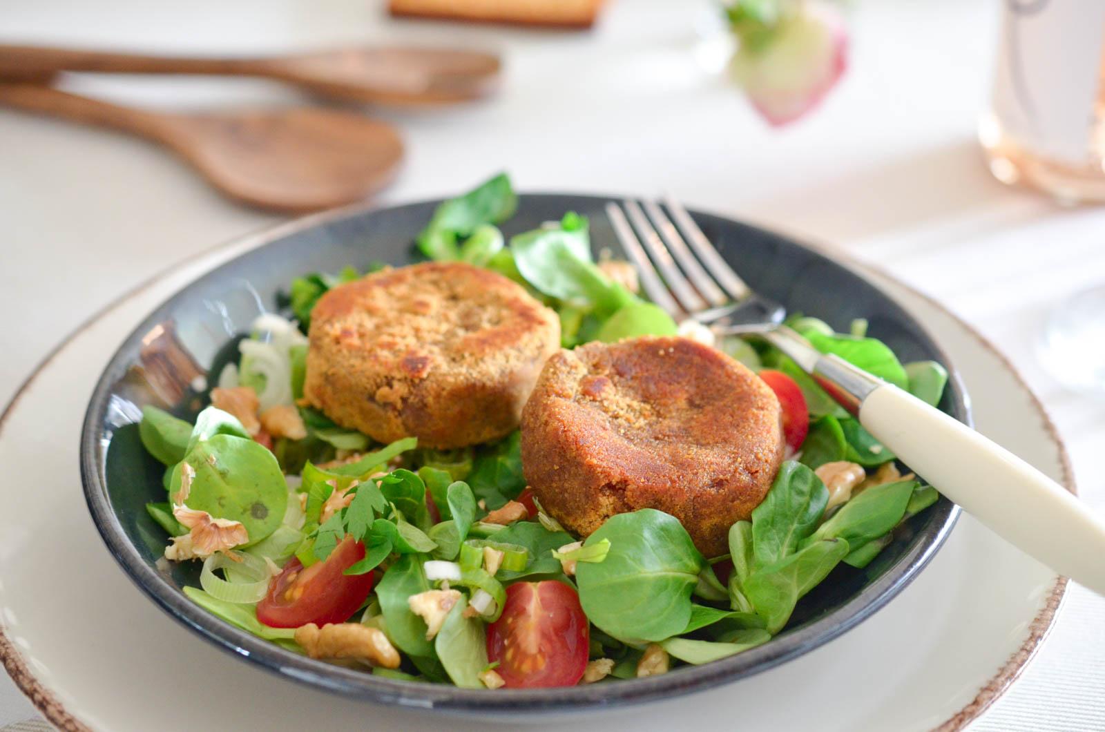 Salade Chèvre Chaud Pain épices Gingembre (8 Sur 8)