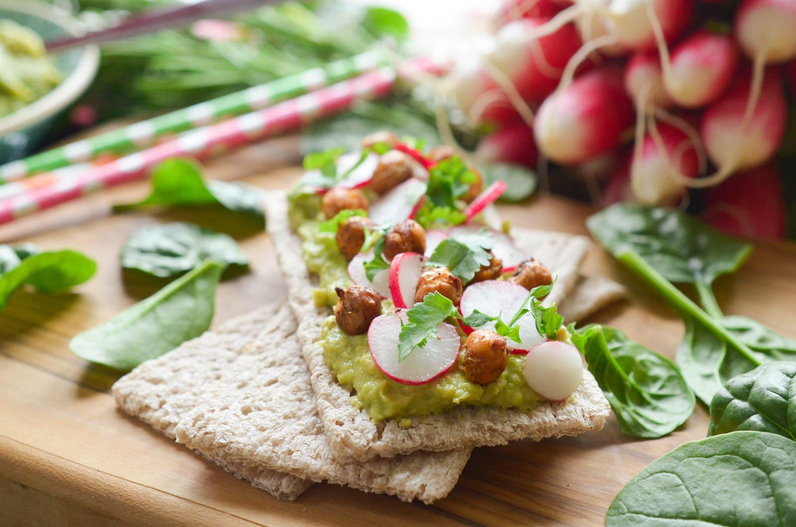Tartine Craquante Sarrasin Houmous Avocat (4 Sur 7)